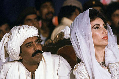 He was married to Shaheed Mohtarma Benazir Bhutto in 1987 in Karachi ...